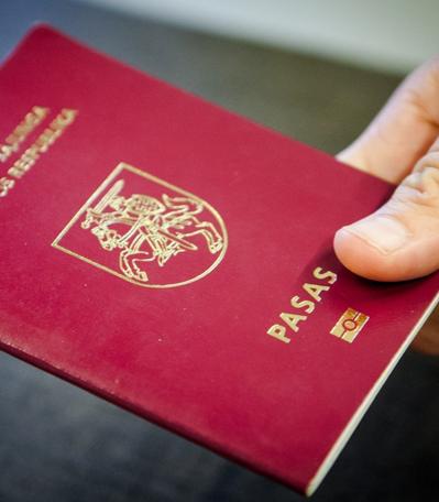 Lietuvos respublikos pasas (biometrinis RFID)